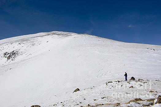 Steve Krull - Hiking to Summit of Mount Elbert Colorado in Winter