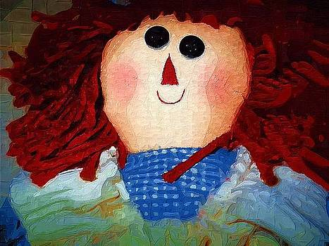 Hilda Is Happy by Robert Smerecki