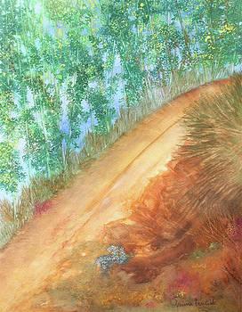 Hill Path by Ashima Kaushik