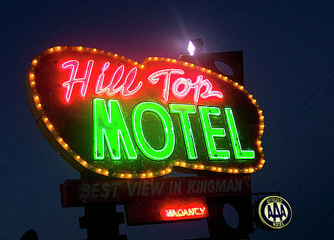 Hill Top Motel by Matthew Bamberg