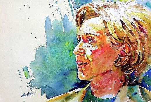 Hillary Clinton by David Lobenberg