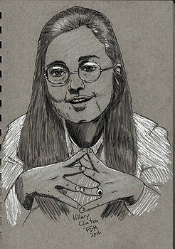 Hillary Clinton by Frank Middleton
