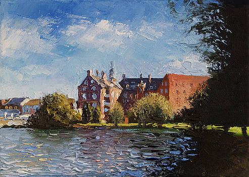 Hillerod. Denmark. Sunny day by Misha Lapitskiy