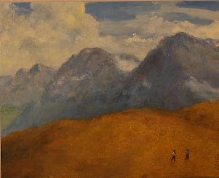 Hills and Mountains by L Stephen Allen