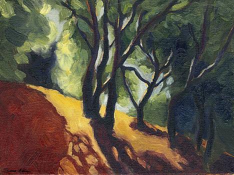 Hills in El Cerrito California by Susan Adame