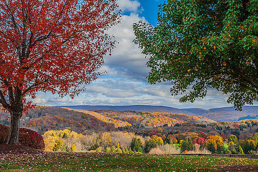 Hills of Autumn by April Reppucci