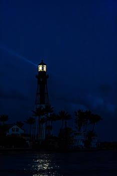 Hillsboro Light After Sundown by Ed Gleichman