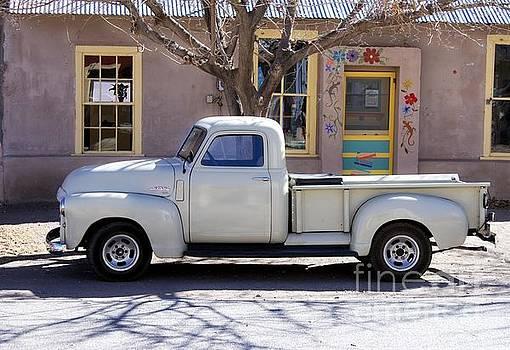Hillsboro New Mexico 1949 GMC 100 by Barbara Chichester