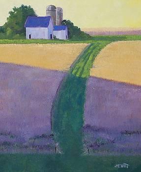 Hillside Farm by Philip Hewitt