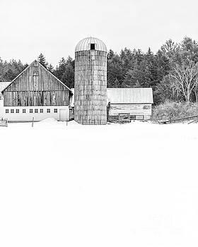 Hillside Road Barn and Silo by Edward Fielding