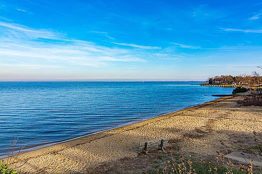 Hillsmere Beach on the Chesapeake by Charles Kraus
