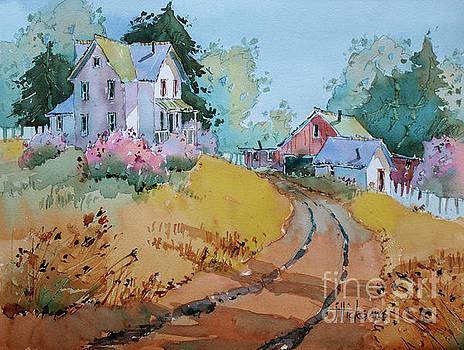 Hilltop Homestead by Joyce Hicks