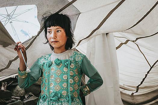 Himalayan Girl by Marji Lang