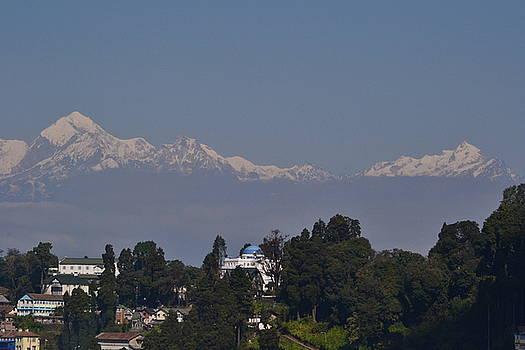 HImalayan Range from Darjeeling by Atul Daimari