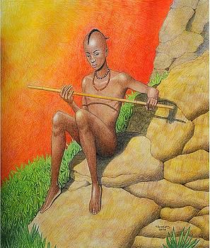 Himba Omu-atje by Jay Thomas II