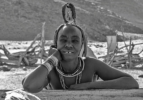 Himba Portrait 2 by Rand