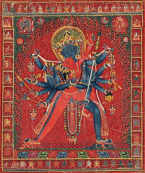 Hindu God Sexual by Tony Rubino