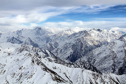 Hindu Kush Snowy Landscape by SR Green