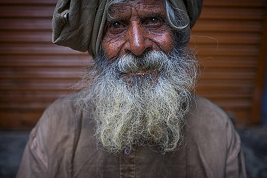 Hindu Man by David Longstreath