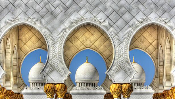 Hindu Temple by John Swartz