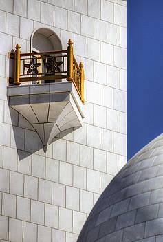 Hindu Temple Tower by John Swartz