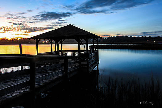 Hinson House Dock by Bill Cantey
