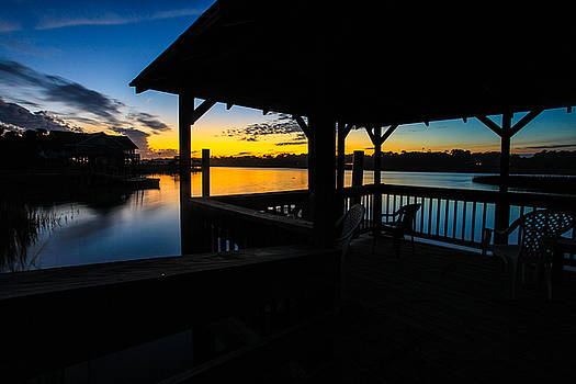 Hinson House Dock Verison two by Bill Cantey