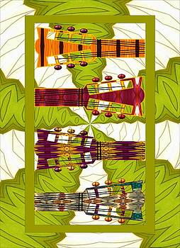 Hip Guitars by Jeanette Lindblad