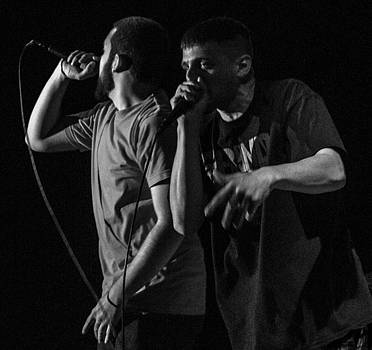 Hip-Hop Duo by Michael Gora