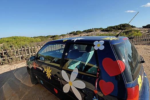 Nano Calvo - Hippie car in Formentera