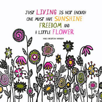 Hippie Garden by Lisa Weedn