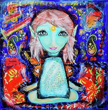 Hippy Fairy by Marley Art