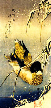 Hiroshige in Winter by Theodora Brown