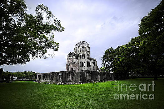 Hiroshima A-Bomb Dome by Ben Johnson