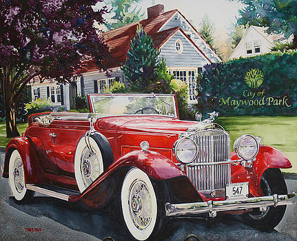 His and Hers Packard 1932 by Mike Hill