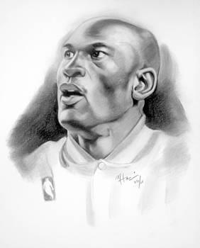 Michael Jordan by Michael Harris