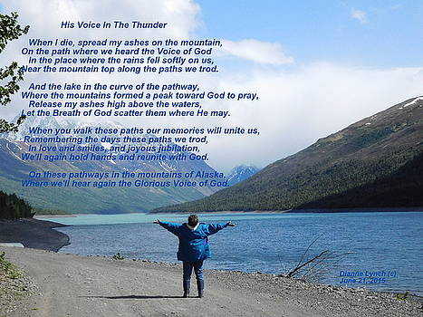 His Voice In The Thunder by Diannah Lynch