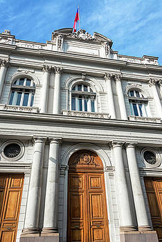 Historic Architecture in Santiago, Chile by Jess Kraft