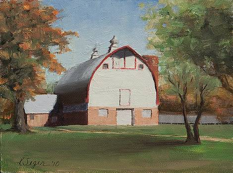 Historic Barn by Katherine Seger