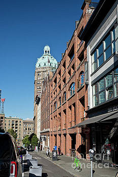 Historic Beatty Street in Vancouver by Maria Janicki
