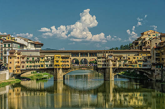 Historic bridge by Livio Ferrari