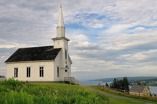 Reimar Gaertner - Historic church at Highland Village Museum Iona Cape Breton with