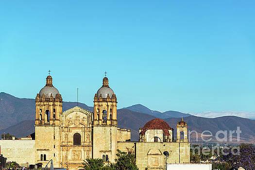 Historic Church in Oaxaca by Jess Kraft