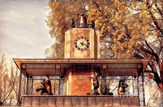 Historic Delacorte Musical Clock at the Central Park Zoo by Miriam Danar