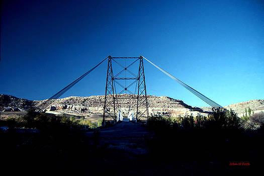 Historic Dewey Bridge by John Foote