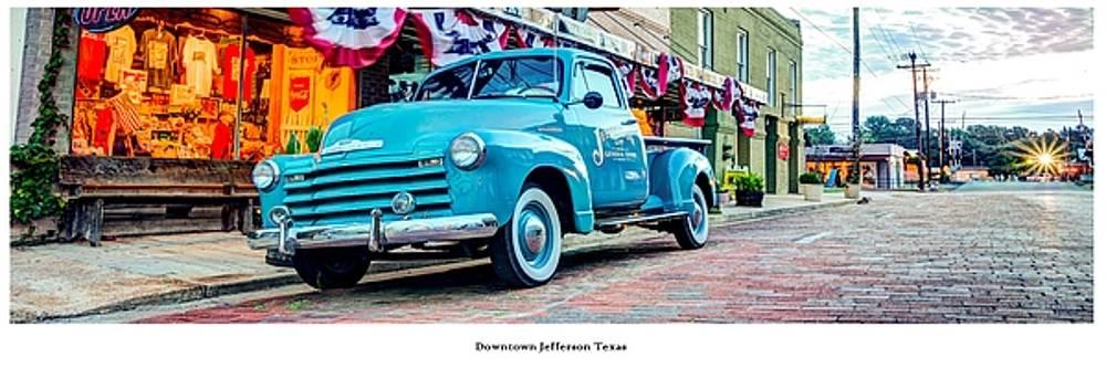 Historic Downtown Jefferson Texas by Geoff Mckay