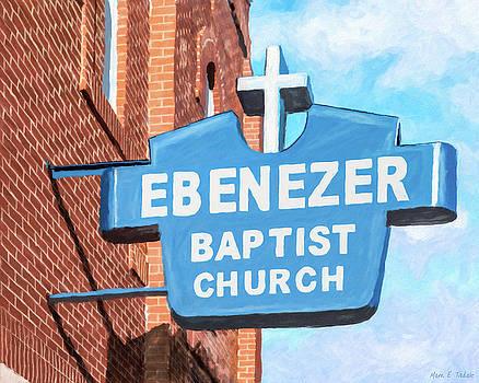 Historic Ebenezer Baptist Church - Sweet Auburn by Mark Tisdale