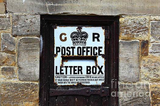 James Brunker - Historic Georgian Letter Box Detail