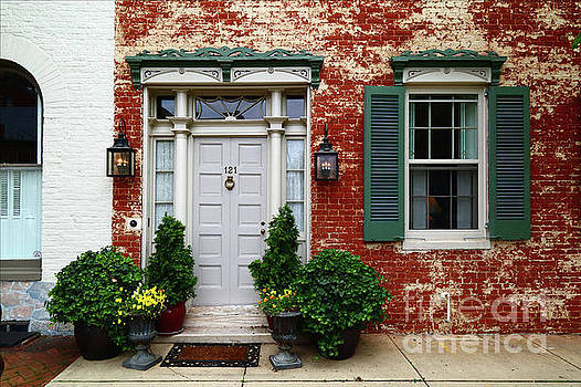 Historic House in Frederick Maryland by James Brunker