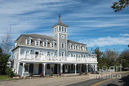 Historic Inns and Hotels on Block Island Rhode Island by Wayne Moran